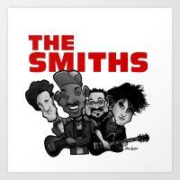 The Smiths (white Versio… Art Print