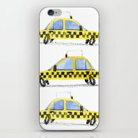 Taxis! iPhone & iPod Skin