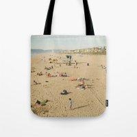 Manhattan Beach Tote Bag