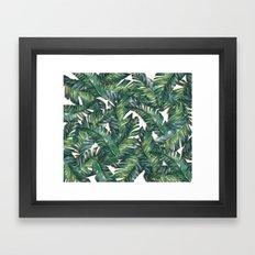 banana leaf 3 Framed Art Print