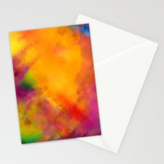 Purple - Abstract Digital Painting Stationery Cards