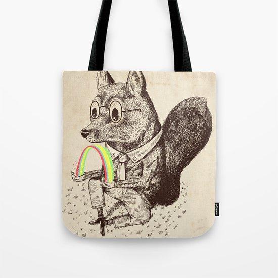 Strange Fox Tote Bag