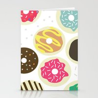 Doughnuts Stationery Cards