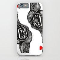 Hairy Heart iPhone 6 Slim Case