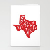 The Lone Star State - Te… Stationery Cards