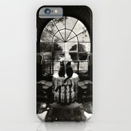 iPhone & iPod Case featuring Room Skull B&W by Ali GULEC
