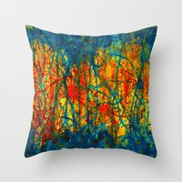 Separation Anxiety Throw Pillow