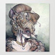 Vulpes Masquerade, Now A… Canvas Print