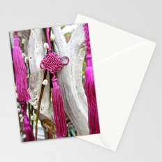Chinese Knot (Magenta) Stationery Cards