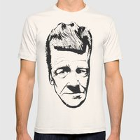David Lynch Mens Fitted Tee Natural SMALL