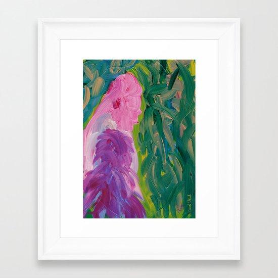 Three o'clock Framed Art Print