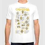 Welcome To Carcosa Mens Fitted Tee White SMALL