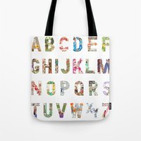 ABC of professions Tote Bag