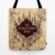 MARAUDERS MAP Tote Bag