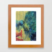 Abstract Landscape III Framed Art Print