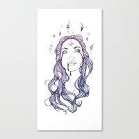 Star Shine || VACANCY zine Canvas Print