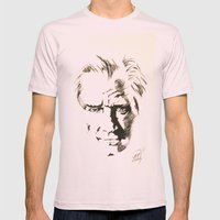 Mustafa Kemal ATATURK  Mens Fitted Tee Light Pink SMALL