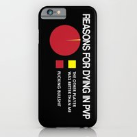 Reasons for Dying in PVP iPhone 6 Slim Case