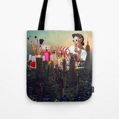 Urban Camouflage Tote Bag