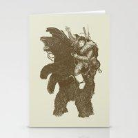 Bearpoleon Stationery Cards