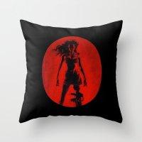 Cherry Darling Throw Pillow