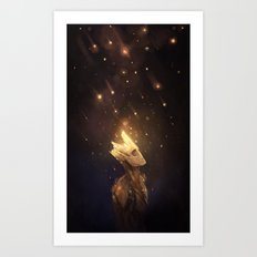 Groot: Spores Art Print