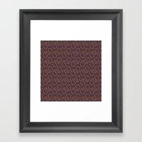 Royal Paisley Framed Art Print