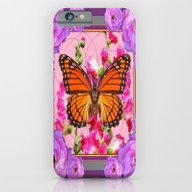 iPhone & iPod Case featuring Puce-Purple-Pink Floral … by SharlesArt