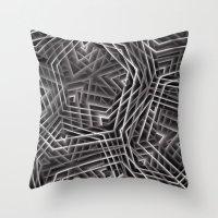 Di-simetrías 3 Throw Pillow