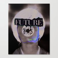 Wasn't The Future Wonder… Canvas Print