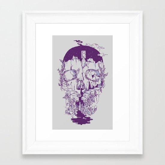 Inside My Head 2.0 Framed Art Print