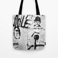 LISEZ KAFKA - Paris - France Tote Bag