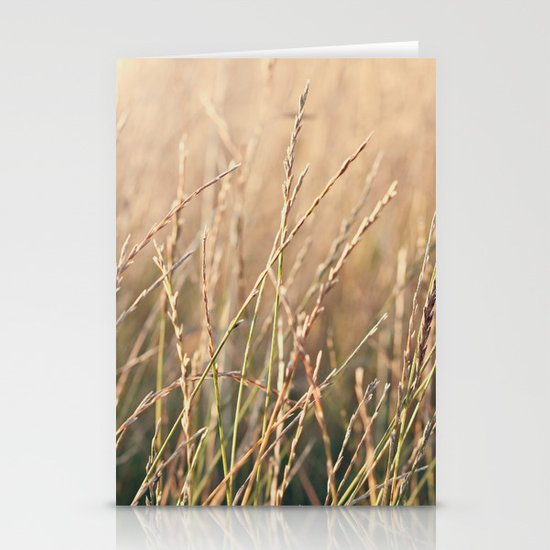 Field in the Sun Stationery Card