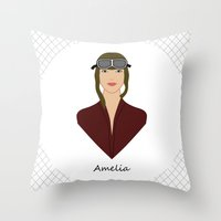 Amelia Throw Pillow