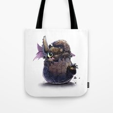 New Born Toothless  Tote Bag