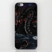 Sea Serpent - Bakunawa iPhone & iPod Skin