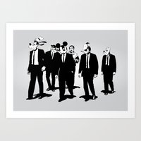Walt's Protection Crew Art Print