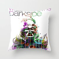 Welcome 2 The Darkside Throw Pillow