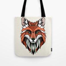 Fox // Colored Tote Bag