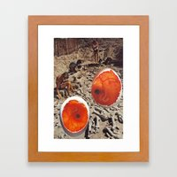Collage #48 Framed Art Print
