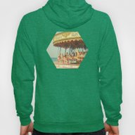 Seaside Carousel Hoody