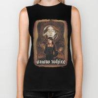 Snow White Biker Tank