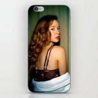 Hattie iPhone & iPod Skin