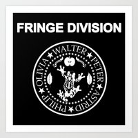 Fringe Division I wanna be sedated Art Print