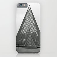 iPhone & iPod Case featuring Musée du Louvre II by Olivia Nicholls-Bates
