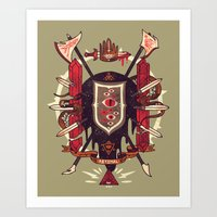 Astral Ancestry Art Print