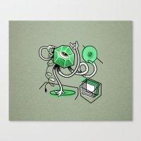 Mr. Gemstone Canvas Print