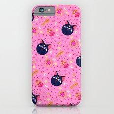 Chibi Moon Pattern / Sailor Moon iPhone 6 Slim Case