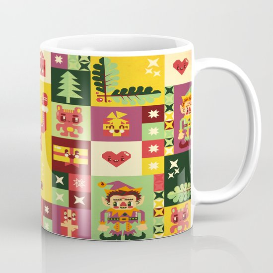 Christmas Geometric Pattern No. 1 Mug