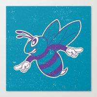Buzz City Hornet by BEAST Canvas Print
